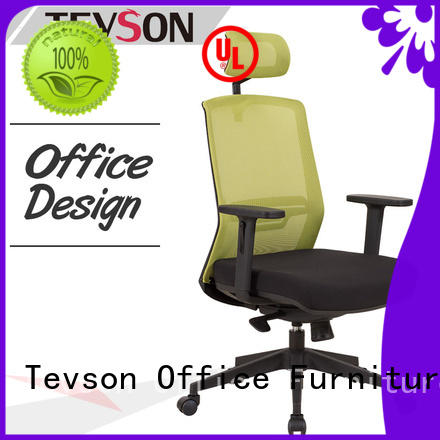 Tevson leather high back chair testing