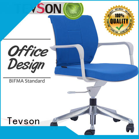 Tevson classic mesh adjustable office chair duty in work room
