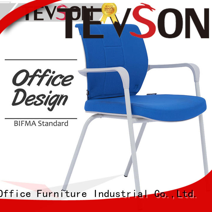 heavy chair with tablet free design for waiting Room Tevson