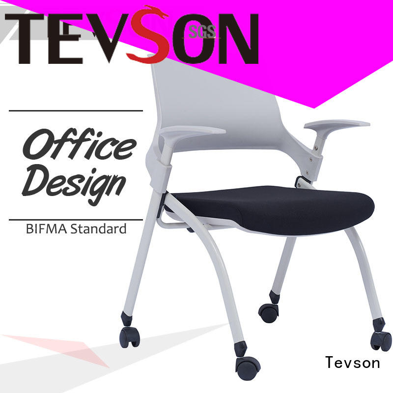 Tevson best training room chair marketing with writing board