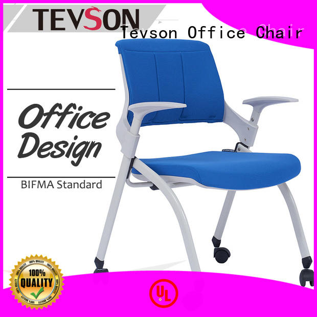 Tevson ultracompact training room chair workshops for reception