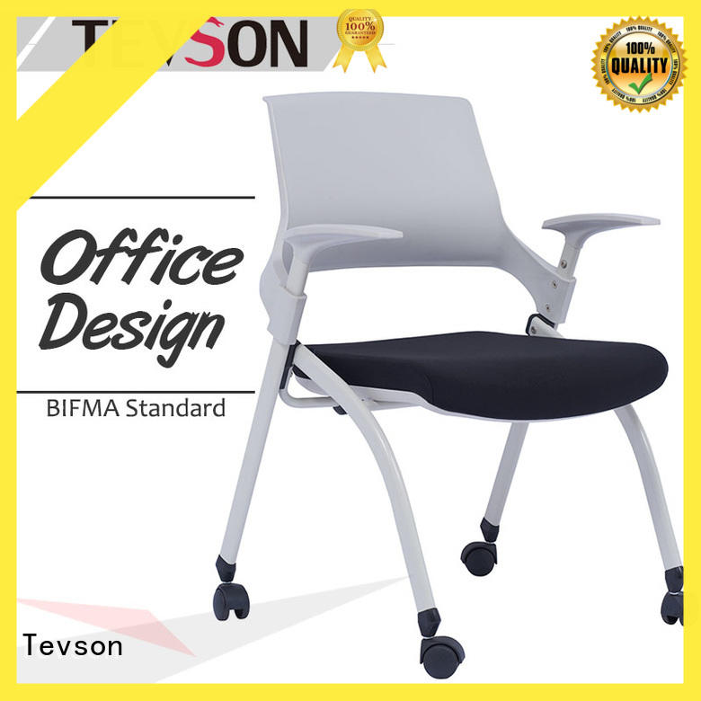 Tevson plastic visitor chair for anteroom