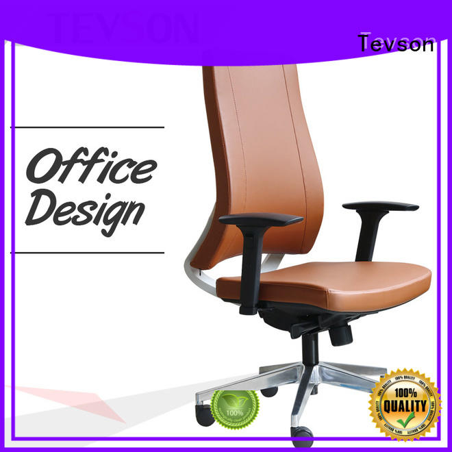 Tevson stylish computer desk chair bulk production for room