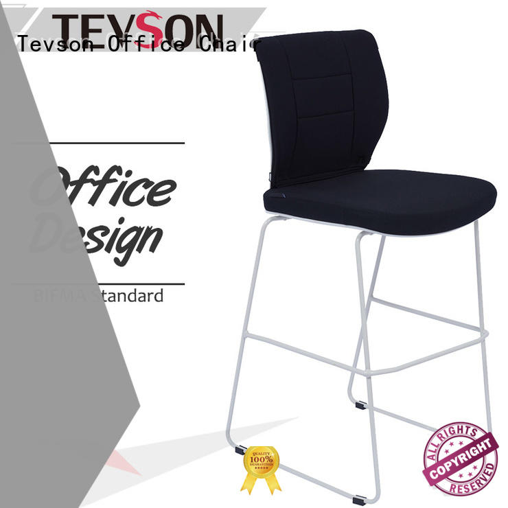 Tevson back high bar stools certifications for reception