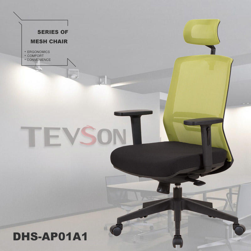 Tevson ergonomic mid back mesh office chair gaming for waiting Room