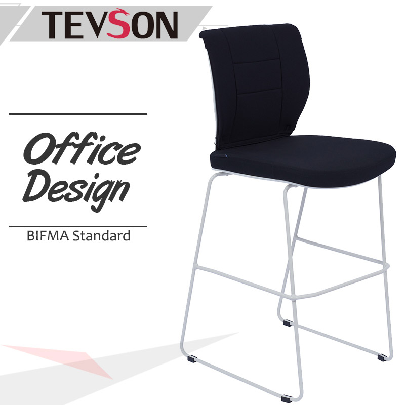 Tevson back high bar chairs manufacturer for snack bar-1