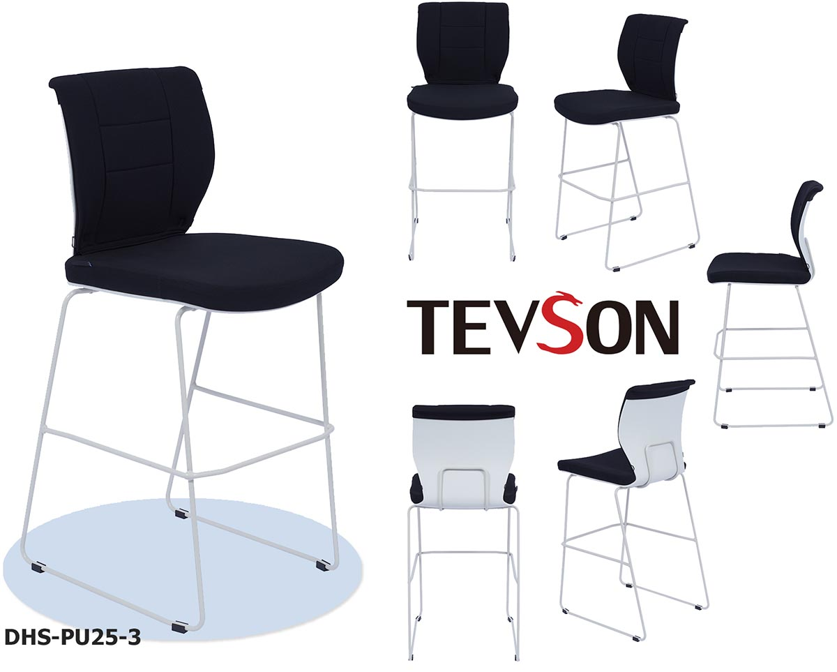 latest commercial bar stools padded for business for reception-1