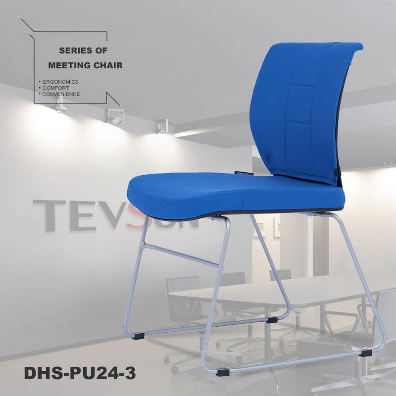 Tevson plastic training room chairs scientificly for anteroom