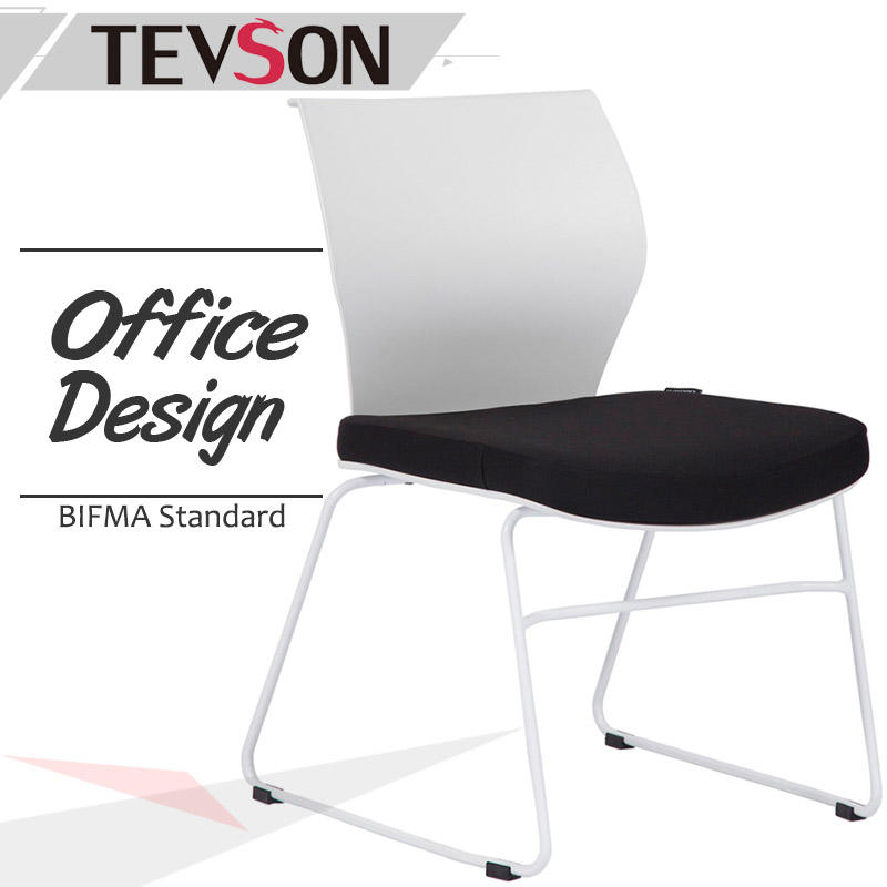 Mid Back Stackable Chair for Office, Anteroom, Meeting Room