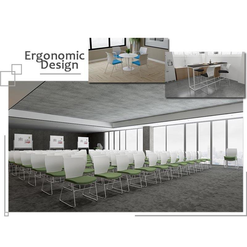 Tevson mid back meeting room chairs marketing for anteroom