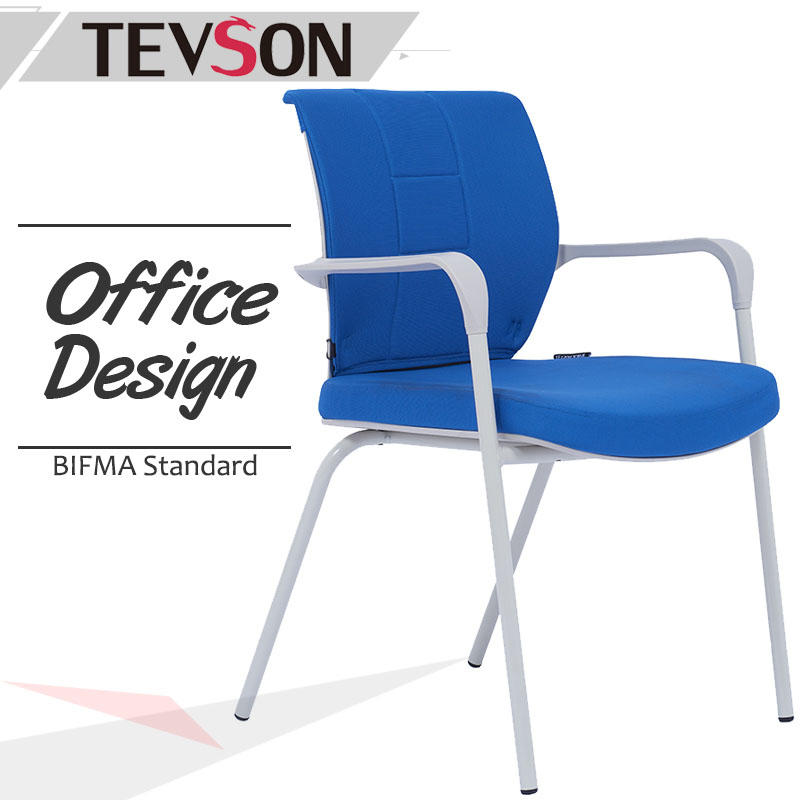 Modern Office Furniture Staff Chair with plastic mid back