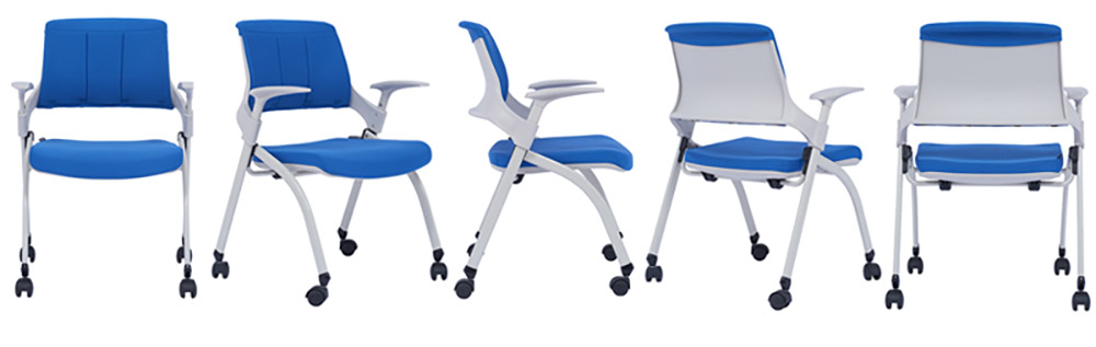 Tevson plastic training room chair factory for conference-1