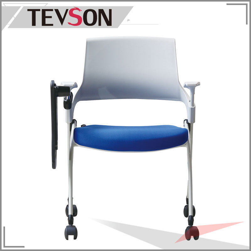 strong Folding training room chair polyester bulk production for anteroom-2