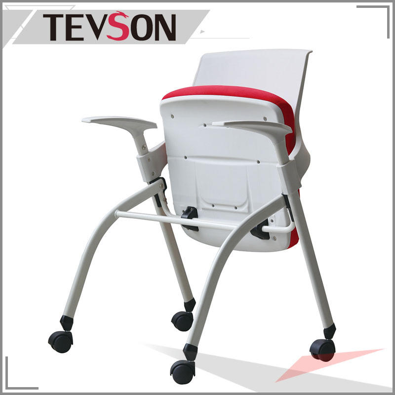 Strong Folding Chair with Comfortable Molded Seat for Lecture