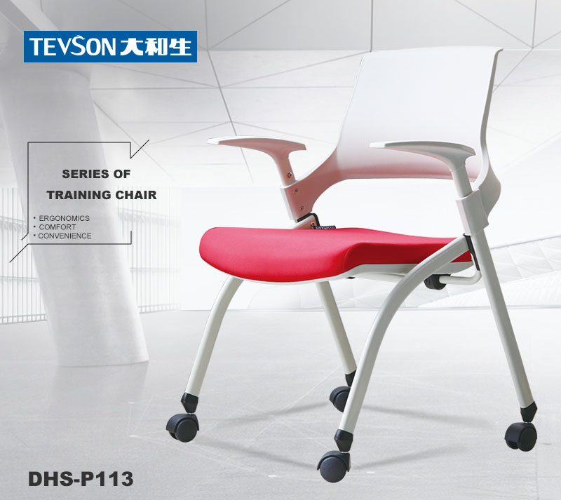Tevson low cost classroom chairs with writing pad free design-6