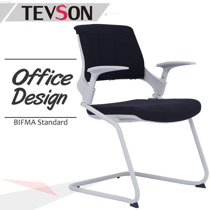 Tevson arm tablet arm chair certifications for waiting Room-1