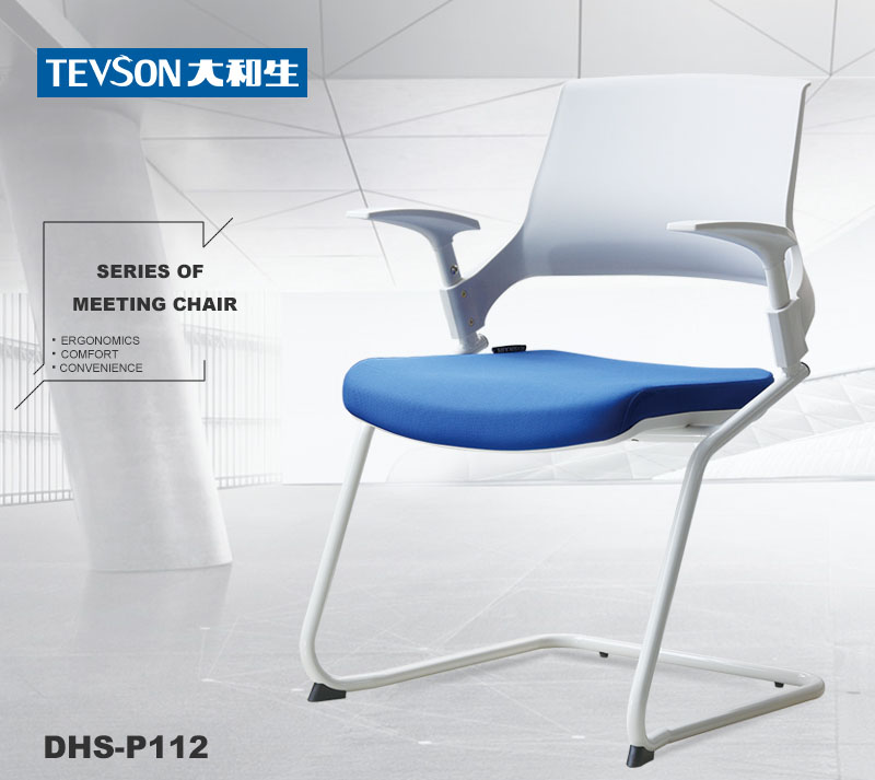 Tevson modern classroom chairs with writing pad certifications-6