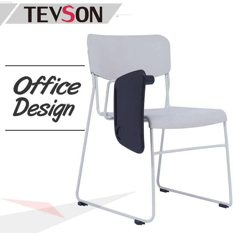 Tevson classroom classroom chairs with writing pad certifications for waiting Room-1