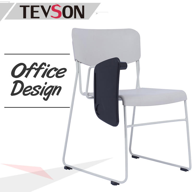 Modern Student Classroom Study Chair with Writing Board