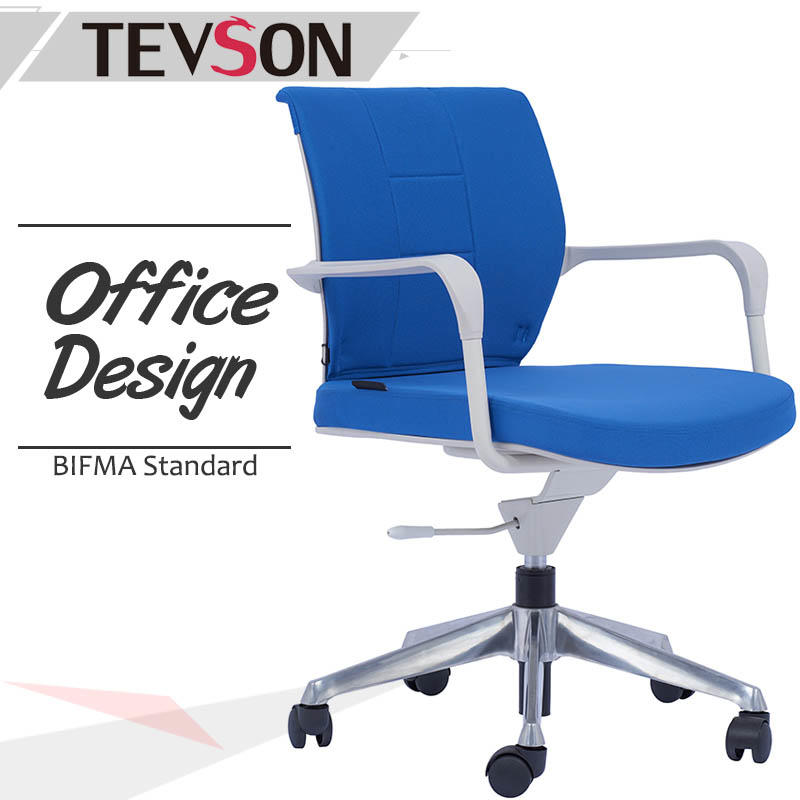 High Elastic Mid-back Computer Study Office Rotating chair