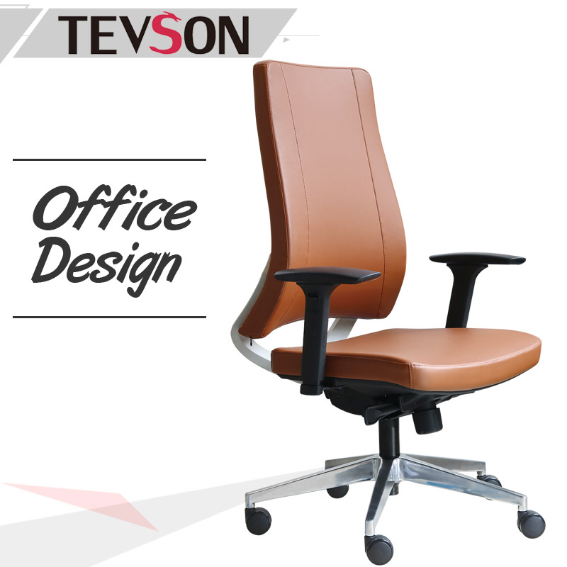 Tevson fashion high back office chair free design-1