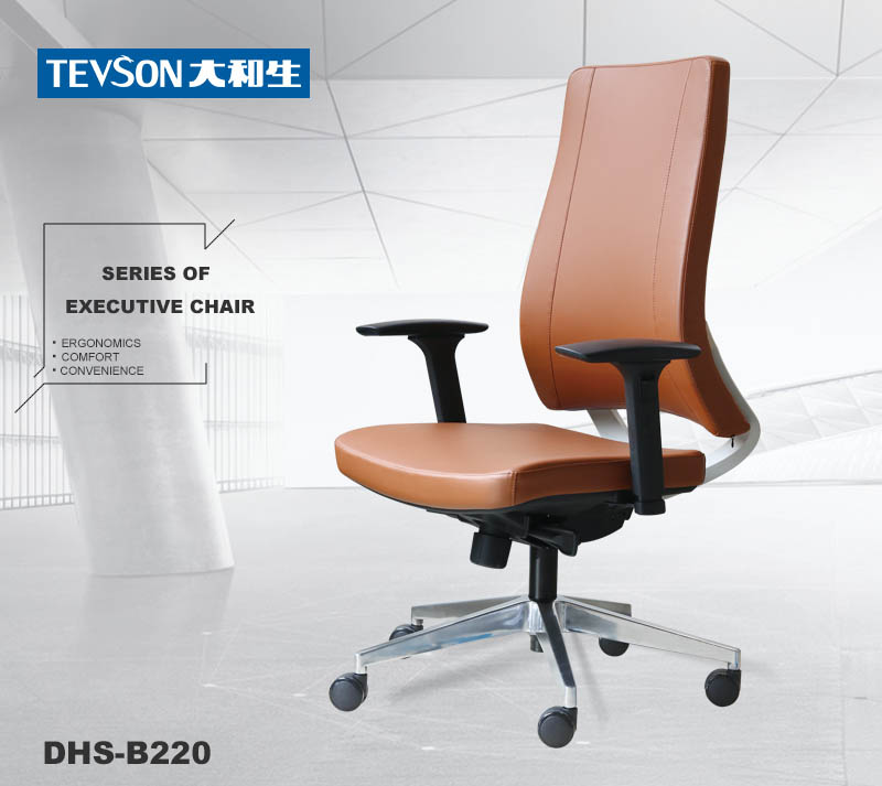 Tevson classic swivel office chair at discount in work room-6