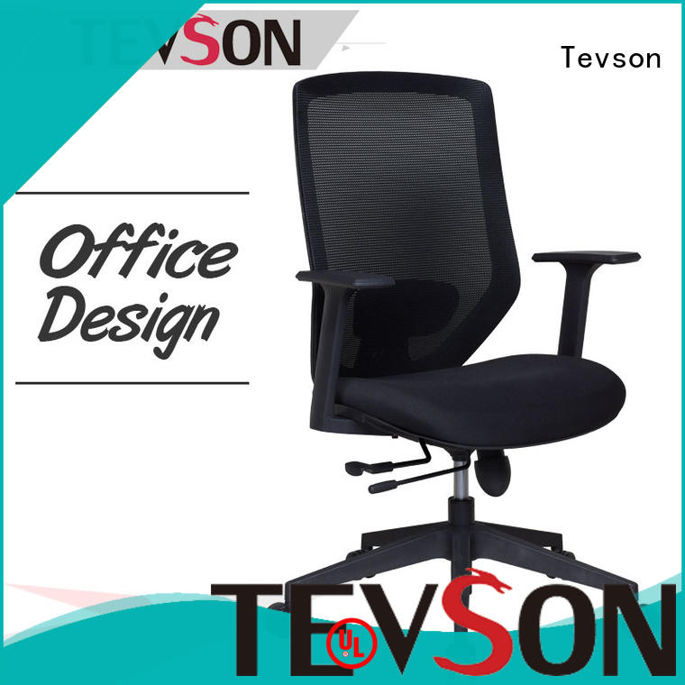 Tevson executive swivel office desk chair in living room