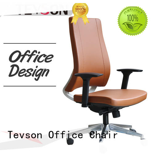 Tevson high end leather office chair bulk production for waiting Room