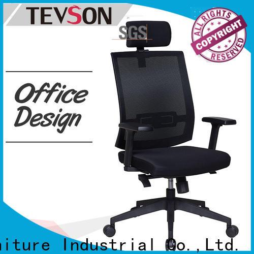 Tevson Custom ergonomic chair deals company for reception