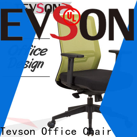 Tevson gaming ergonomic chair with headrest company in school