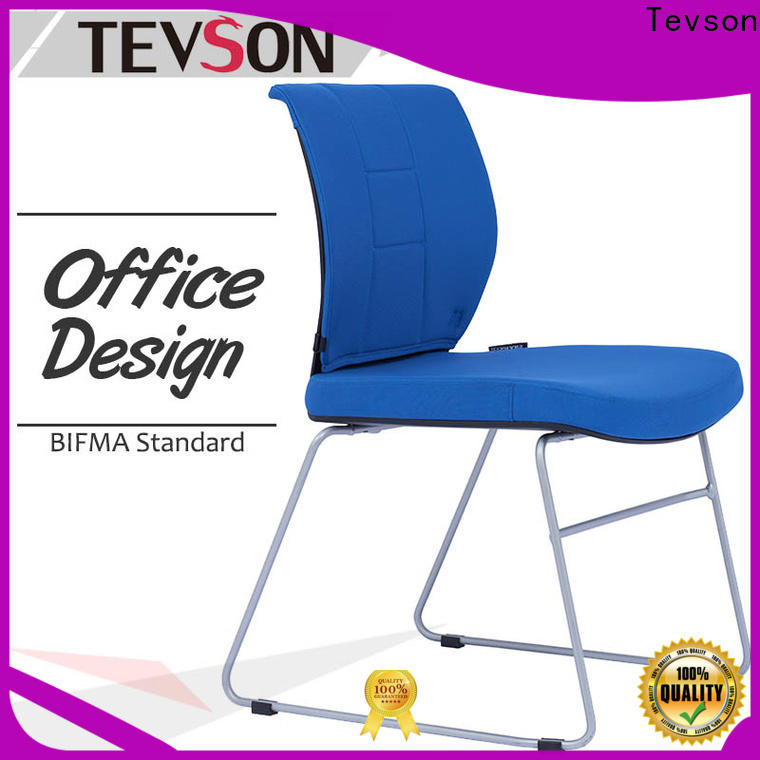 Tevson office conference room chairs without wheels supply for anteroom