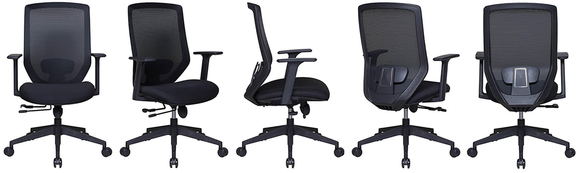 Tevson rotating swivel office chair-1