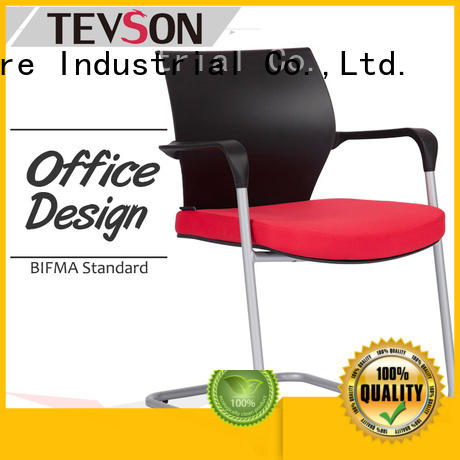 Tevson staff classroom chairs with writing pad workshops for conference