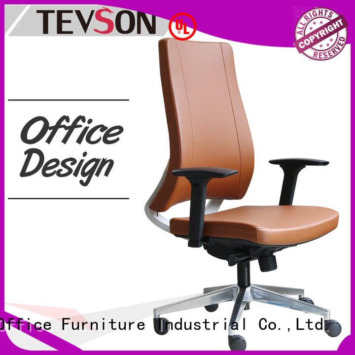 gaming high back chair ergonomic for reception Tevson