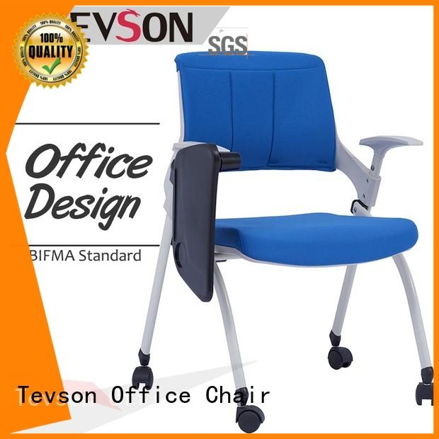 Tevson strong Folding study chair certifications for waiting Room