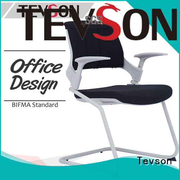 Tevson mid back study chair with pad multiuse with writing board