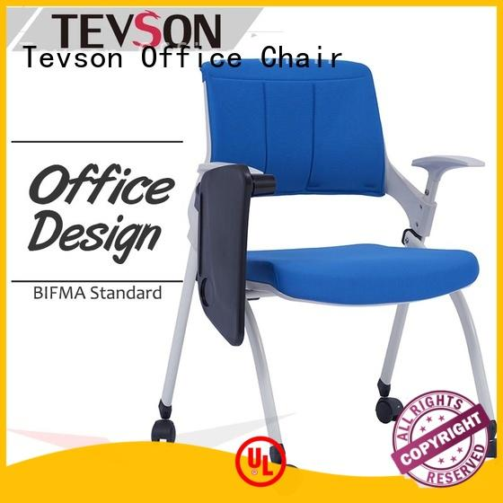 Tevson heavy study chair with writing pad for waiting Room