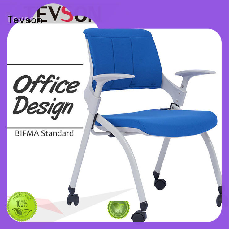 Tevson multiuse study chair with writing pad free design for anteroom