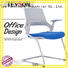 Tevson modern classroom chairs with writing pad certifications