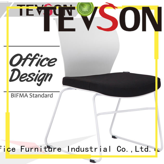 Tevson high elastic classroom chairs tablet for conference
