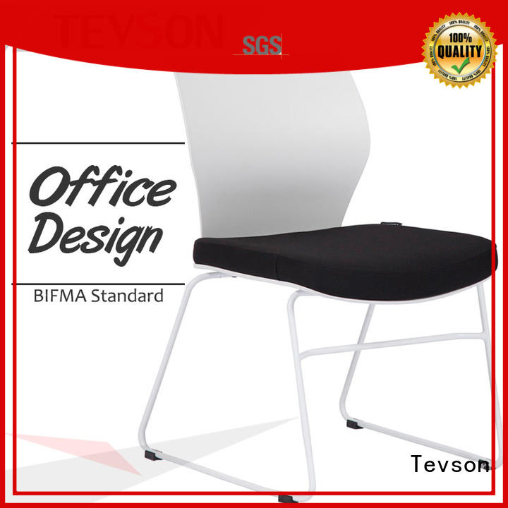 plastic visitor chair price scientificly for anteroom Tevson