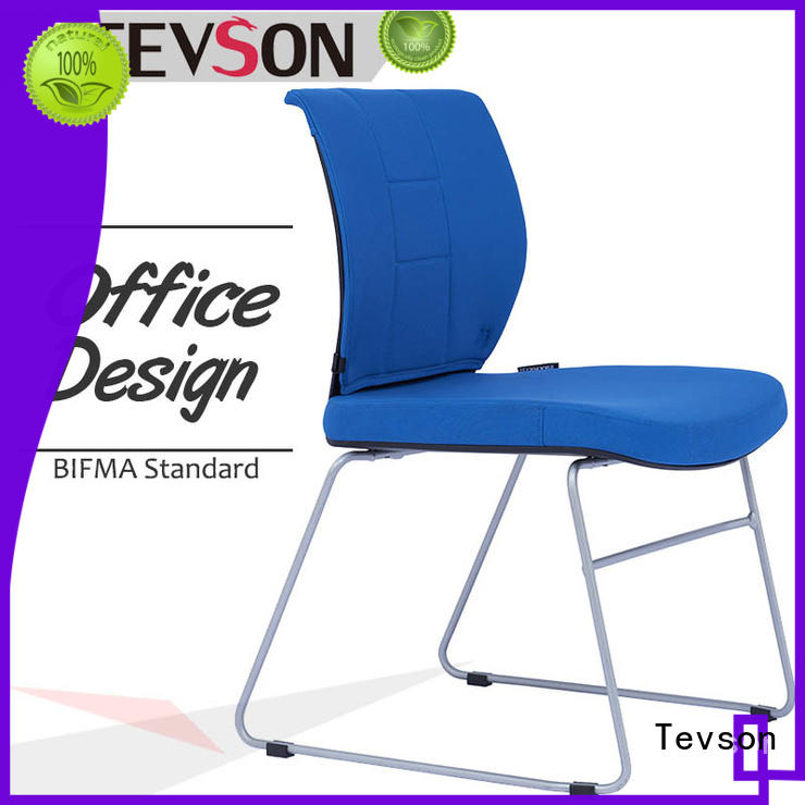 plastic student writing chair for conference Tevson