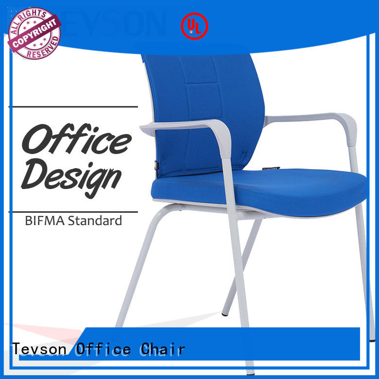 Tevson plastic study chair with writing pad workshops for anteroom