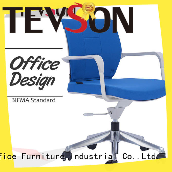 Tevson heavy modern office chair supplier in work room
