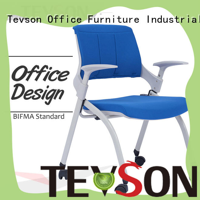 Tevson sturdy classroom chairs with writing pad resources for reception