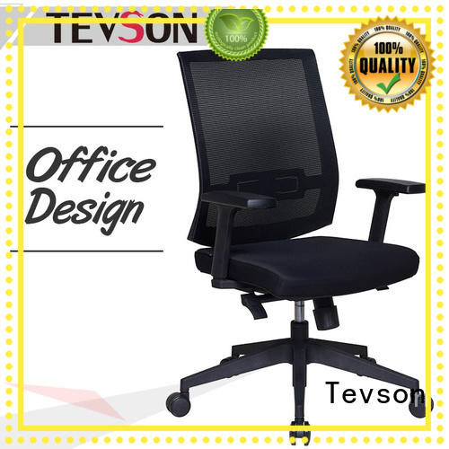 Tevson ergonomic leather office chair testing in school