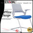 Tevson sturdy training room chair bulk production with writing board