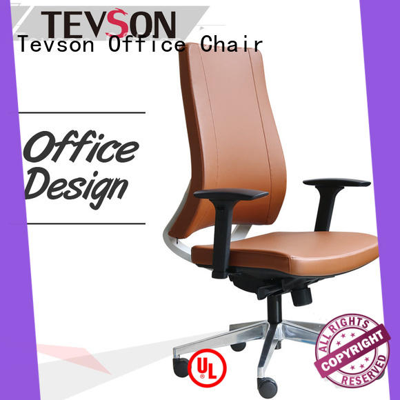 Tevson executive mid back leather office chair solutions in school