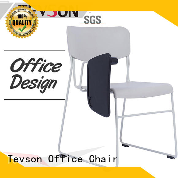 Tevson high elastic visitor chair workshops with writing board