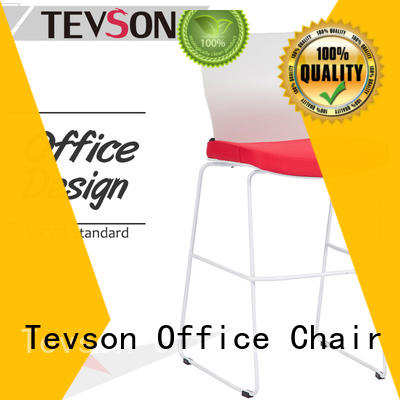 Tevson good-package commercial bar stools in different color for snack bar